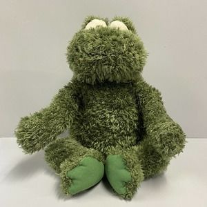 Gund Heads and Tails Chenille Fuzzy Plush Frog